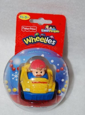 Fisher-Price Little People Wheelies Tow Truck
