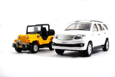 Toyzstation New Generation Miniature SUV(Yellow, White)