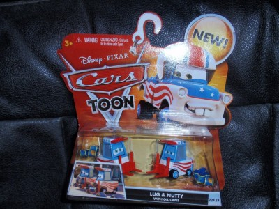 Disney Pixar CARS TOON Die Cast Car Lug Nutty