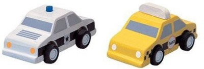 PlanToys Plan City Taxi And Police Car