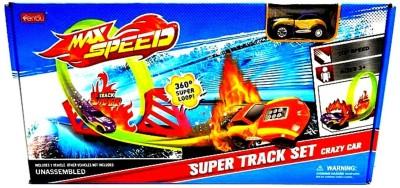 Sunny Super Track Set Crazy Car