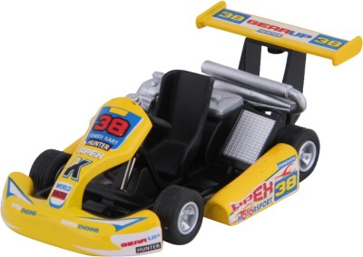 Baby Steps Kinsmart Die-Cast Metal Turbo Gokart