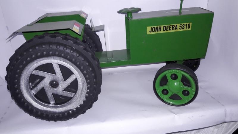 Azad Industries Tractor(Green, Grey)