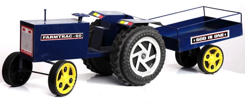 Azad Industries Tractor(Blue, Black)