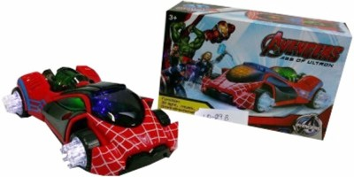 Turban Toys Spiderman Omni - Directional musical car with 3D Lights