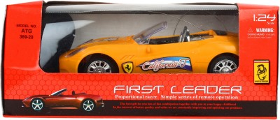 Teddy Berry Battery Operated First Leader Car(Yellow)