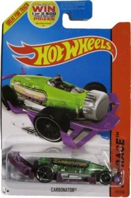 Hot Wheels 2014 Hw Race Xraycers Green & Purple Carbonator 172/250