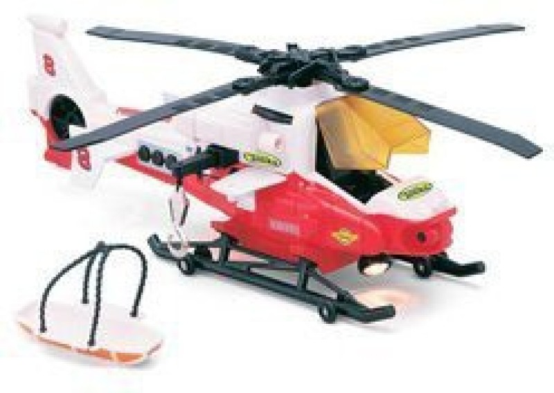 Funrise Tonka: Light And Sound Rescue Helicopter -(Red)