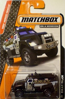 Matchbox 2014 Swat Truck