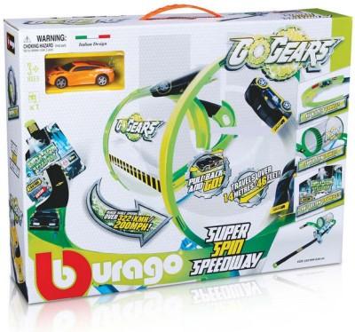 Bburago Go Gears Super Spin Speedway Playset