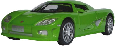 Adraxx 1:28 Scale Die Cast Retro Concept Sports Car Toy Collector Model