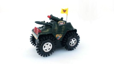 Wishkey Battery Operated Military Tumbling Tank