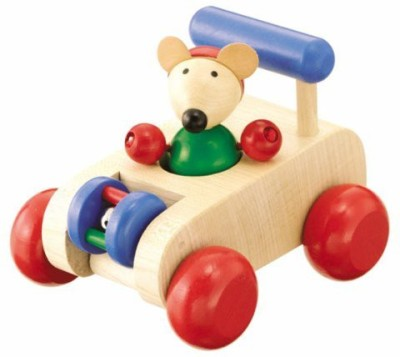 Selecta Autopino Wooden Car