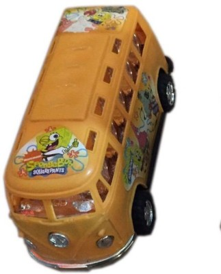 Rahul Toys Small Bus For Kids In Pack Of 2