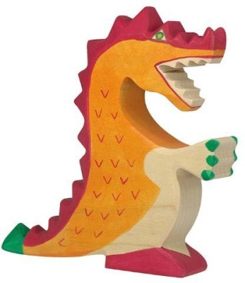 Go Kids HandelsHaus Wooden Dragonin Orange
