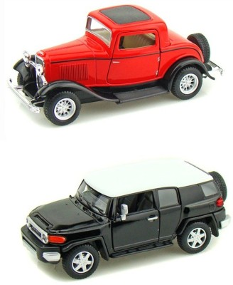 i-gadgets Kinsmart Ford 1932 Coupe Rd and Toyota FJ Cruiser
