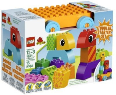 Lego DUPLO Creative Play Toddler Build and Pull Along (10554)