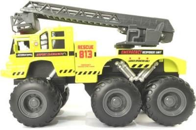 Maisto Builder Zone Quarry Monsters Ladder Truck