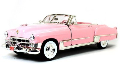 Road Signature 1949 Cadillac Coupe Deville Pink 1:18 Yatming