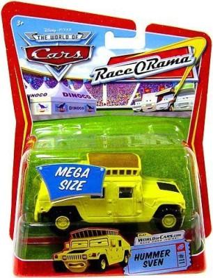 Disney Pixar Cars Race O Rama Series Mega Size Sven (Hummer) 155