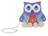 Hamleys Pull Along Mom and Baby Owl (Mul...