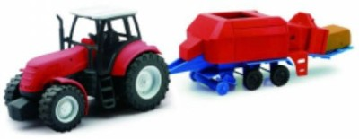 NEWRAY 1/32 Country Life Farm Tractor with Baler
