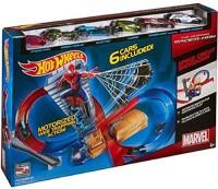 Hot Wheels The Amazing Spider-Man 2 Speed Circuit Showdown Track Set