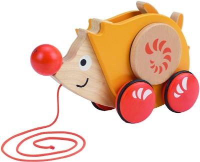 HAPE Early Explorer Walk Along Hedgehog Pull Toy