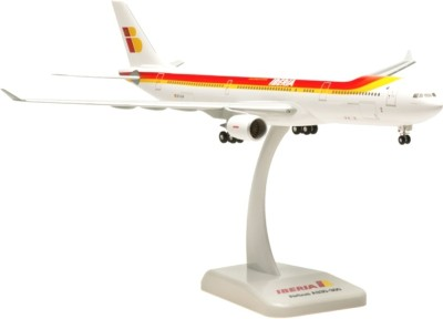 Hogan Wings Airbus A330-300 Iberia, Scale 1:200 (with Stand with Gear)