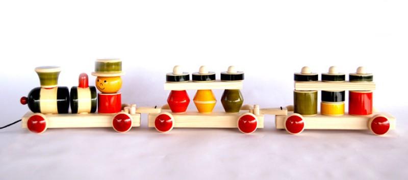Maya Organic My train(Multicolor)