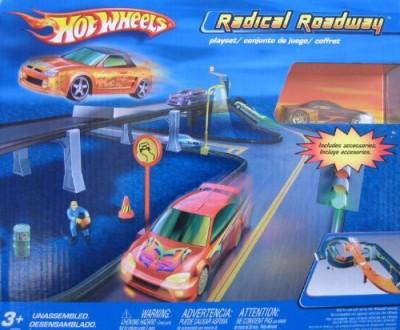 Hot Wheels Extreme Heat Radical Roadway Track Set