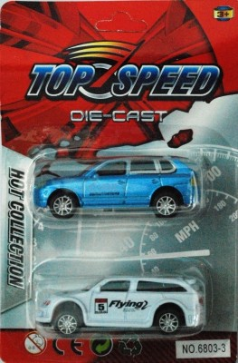 Shop & Shoppee Top Speed Die Cast Set of 2 Cars