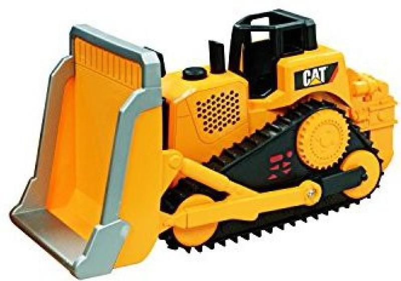 Toystate State Caterpillar Construction Job Site Machines Bulldozer(Yellow)
