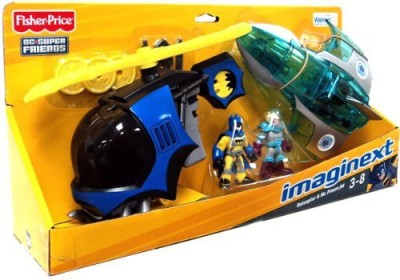 Fisher-Price Imaginext Dc Super Friends Exclusive 2Pack Batcopter Mr