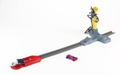 Hot Wheels Marvel The Amazing Spider-Man Doc Ock Knockdown Track Set