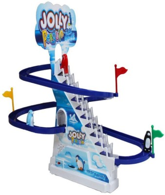 Scrazy Jolly Penguin Race Track Set