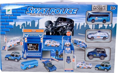 Planet of Toys SWATPOLICEPLAYSET