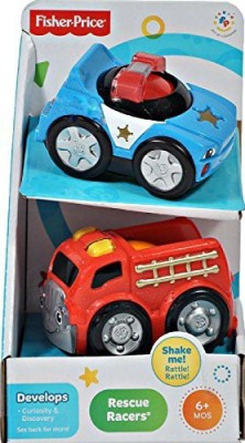 Lil, Zoomers Fisherprice 2Pack Rescue Racers
