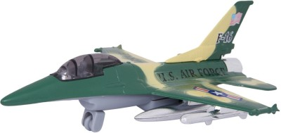 Baby Steps Die-Cast Metal Fly Tiger F-16 Plane