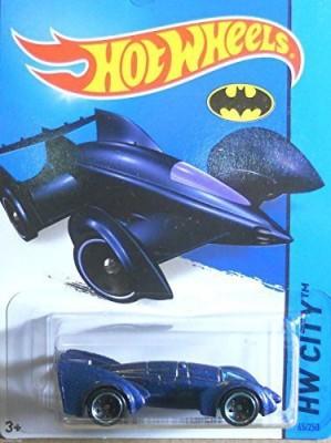Hot Wheels 2015 Hw Citybatman Live Batmobile [Blue] Diecast 65/250