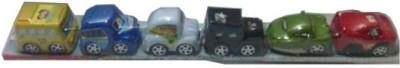 Rahul Toys 6 Pcs Bamboo Car For Kids