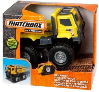 Matchbox Rev Rigs Flatbed Truck