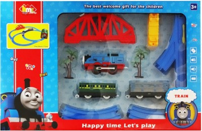 Hmc Electric Toy Train With Track Set