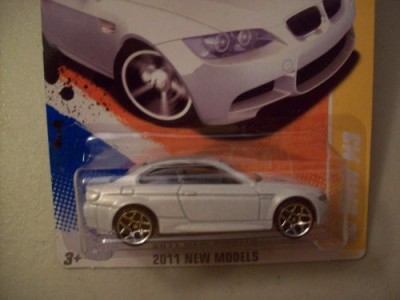 Mattel 2011 Hot Wheels 26/244 New Models 26/50 ,10 Bmw M3