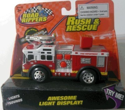 Road Rippers Rush & Rescue *** Mini*** Fire Truck 26