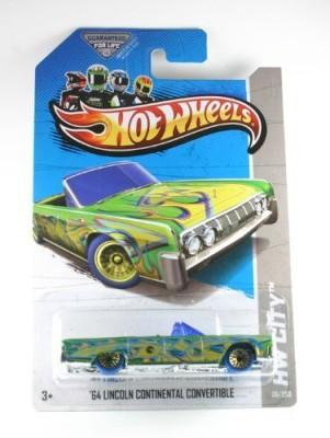 Mattel 2013 Hot Wheels Treasure Hunt ,64 Lincoln Continental