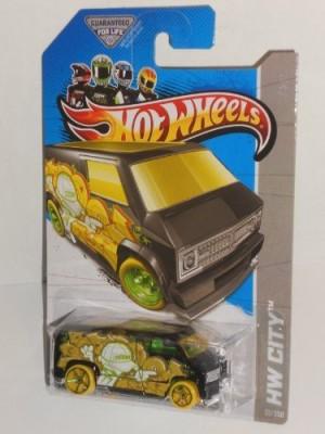 Mattel 2013 Hot Wheels Hw City Custom ,77 Dodge Van Treasure Hunt
