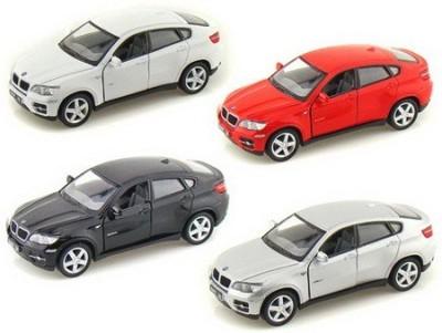 Kinsmart Pack of 4 BMW X6