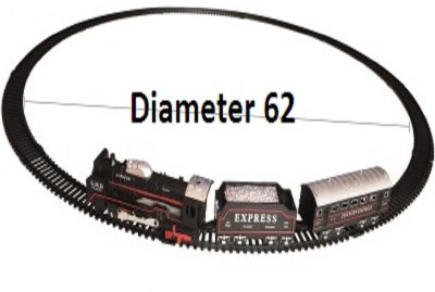 Light Gear Simulation Model Train , Works Off The Track Also