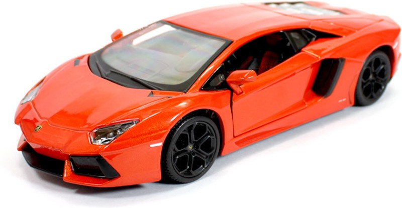 Maisto Lamborghini Aventador Red LP 700-4 1:24 By Maisto Diecast Scale Model Card(Red)